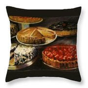 Delicious Zero Calories Throw Pillow