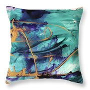 Delight II Throw Pillow