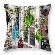 Delightful Hanging Gardens Throw Pillow