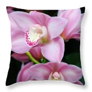 Delightfully Pink Throw Pillow