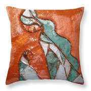 Dellas Gal - Tile Throw Pillow