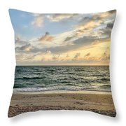 Delnor At Dusk  Throw Pillow