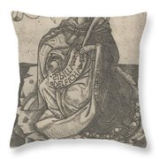 Delphian Sibyl Throw Pillow