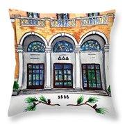 Delta Delta Delta Throw Pillow