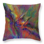 Delta Flow Throw Pillow