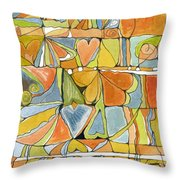Delusions Of The Heart Throw Pillow
