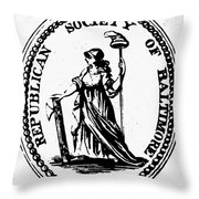 Democratic-republican Party Throw Pillow