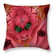 Demon Within Throw Pillow