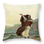 Demosthenes, 384-322 B.c. Throw Pillow