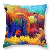 Denali Family Throw Pillow