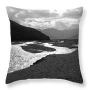 Denali National Park 5 Throw Pillow