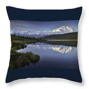 Denali Wonder Lake Throw Pillow