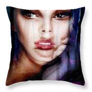 Denebra Goddess Of Forests Throw Pillow