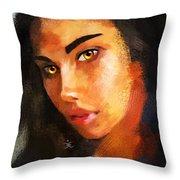 Denebris 766 Throw Pillow