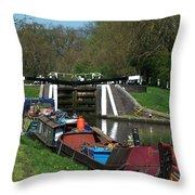 Denham Deep Lock Throw Pillow