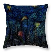 Denizens Throw Pillow