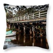 Denmark River Throw Pillow