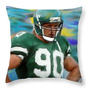 Dennis Byrd Throw Pillow