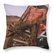 Dennis Hopper Throw Pillow