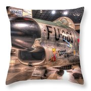 Dennis The Menace, North American F-86d Sabre Throw Pillow