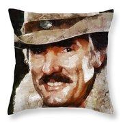 Dennis Weaver, Actor Throw Pillow