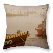 Dennisport Marsh Throw Pillow