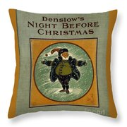 Denslows Night Before Christmas Throw Pillow
