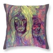 Dental Phobia Throw Pillow