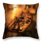 Dental Lab - The Dental Lab Throw Pillow