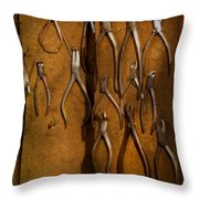 Dentist - Methods Of Extraction  Throw Pillow