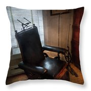 Dentist - The Country Dentist  Throw Pillow