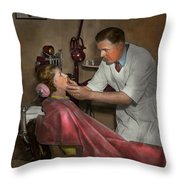 Dentist - Making An Impression - 1936 Throw Pillow