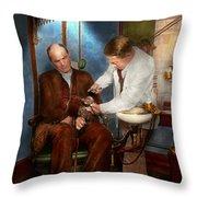 Dentist - Monkey Business 1924 Throw Pillow