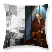 Dentist - Monkey Business 1924 - Side By Side Throw Pillow
