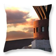 Denver Art Museum And Library Throw Pillow