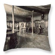 Denver Bank, C1890 Throw Pillow