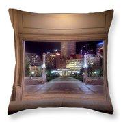 Denver Civic Center Park  Throw Pillow