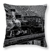 Denver-rio Grande Rr Throw Pillow