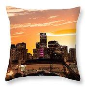 Denver Sunrise Iv Throw Pillow