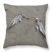 Departed Throw Pillow