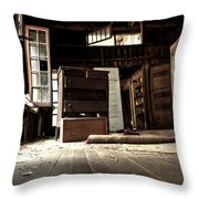 Departed Years Throw Pillow