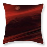 Departing World Throw Pillow