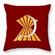 A Broken Frame Logo Throw Pillow