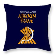 A Broken Frame Logo With Name Throw Pillow