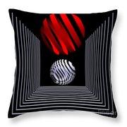 Depth  -1- Throw Pillow