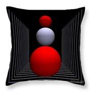 Depth  -9- Throw Pillow