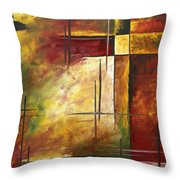 Depth Of Emotion II By Madart Throw Pillow