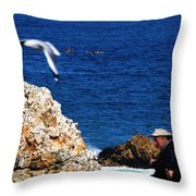 Depth Of Field Throw Pillow
