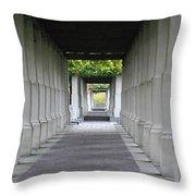 Depth Perception Throw Pillow