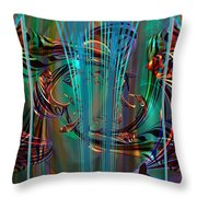 Depths Throw Pillow